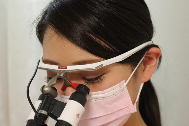 拡大された視野で精密な診療を行っています